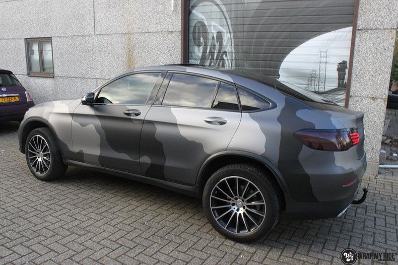 mercedes GLC urban camo, Carwrapping door Wrapmyride.nu Foto-nr:10740, ©2021
