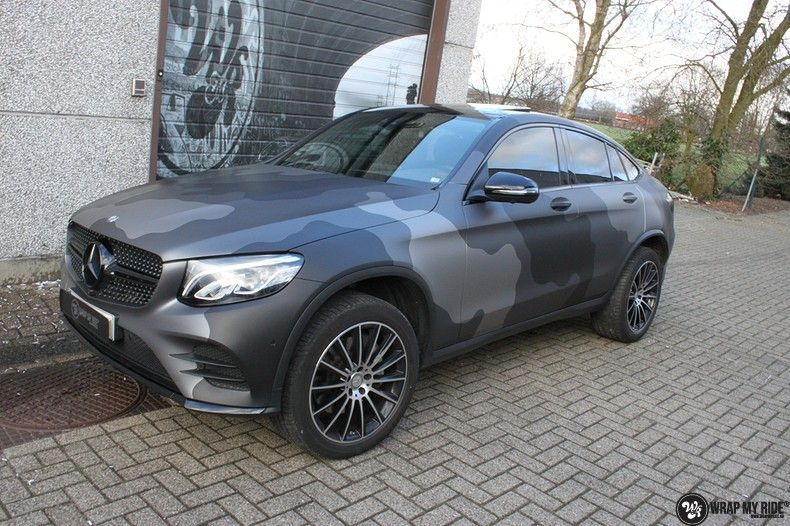 mercedes GLC urban camo, Carwrapping door Wrapmyride.nu Foto-nr:10739, ©2021