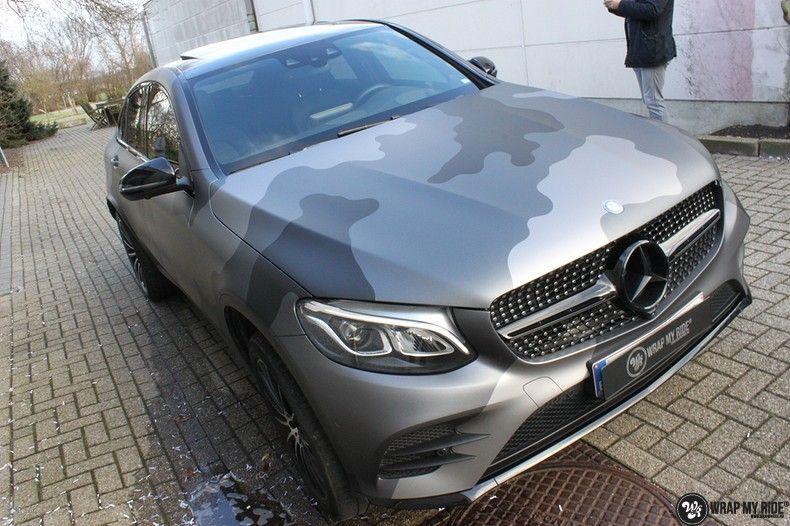 mercedes GLC urban camo, Carwrapping door Wrapmyride.nu Foto-nr:10735, ©2019