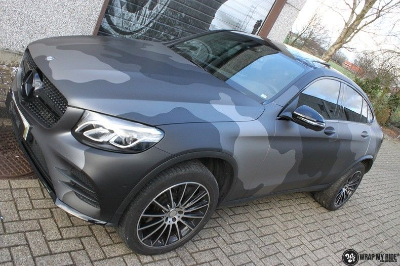 mercedes GLC urban camo, Carwrapping door Wrapmyride.nu Foto-nr:10734, ©2021