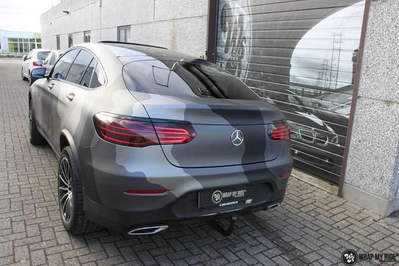 mercedes GLC urban camo, Carwrapping door Wrapmyride.nu Foto-nr:10731, ©2021