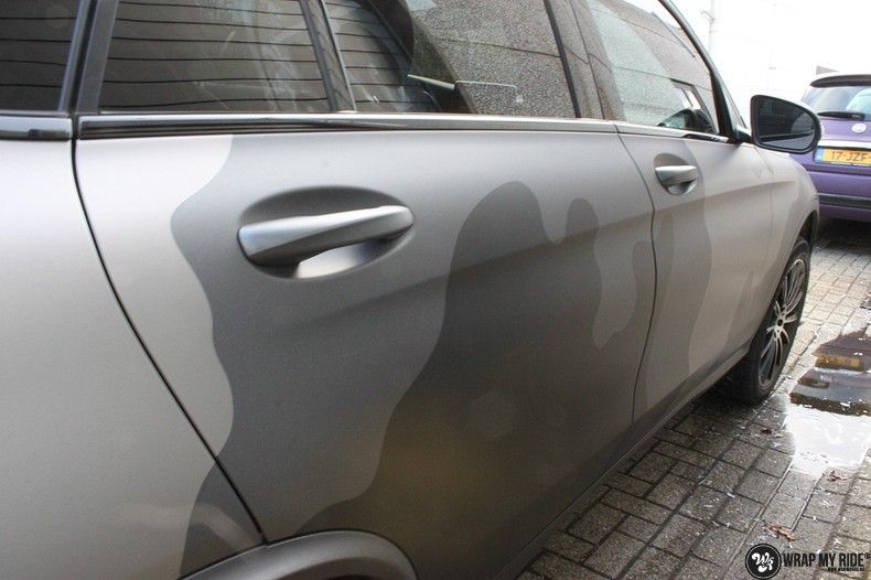 mercedes GLC urban camo, Carwrapping door Wrapmyride.nu Foto-nr:10726, ©2018