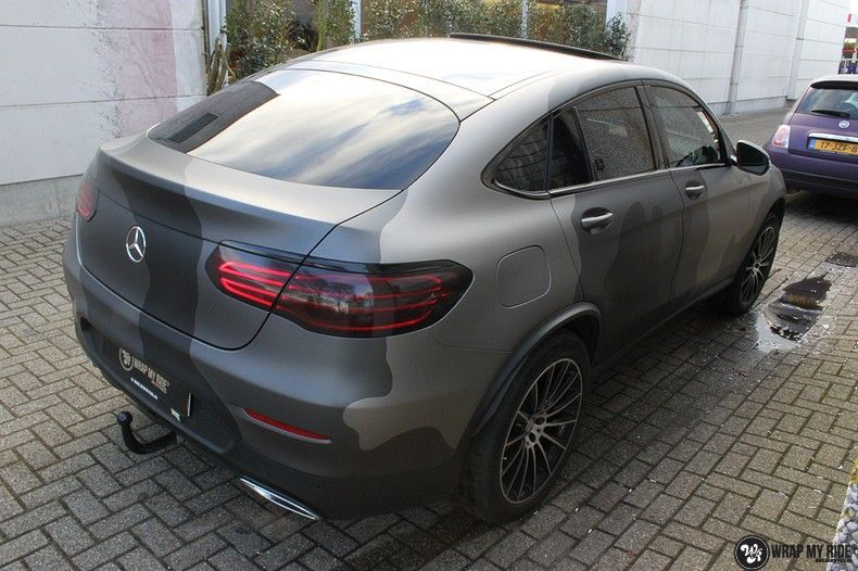 mercedes GLC urban camo, Carwrapping door Wrapmyride.nu Foto-nr:10724, ©2021