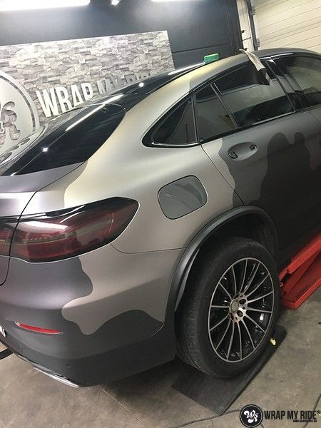 mercedes GLC urban camo, Carwrapping door Wrapmyride.nu Foto-nr:10741, ©2021