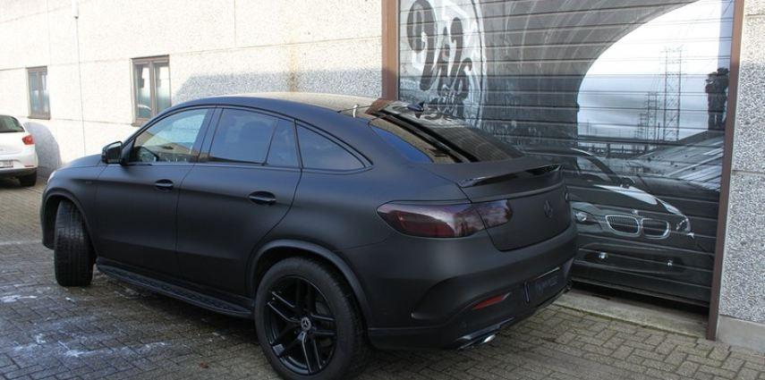 Mercedes GLE Matte Deep Black