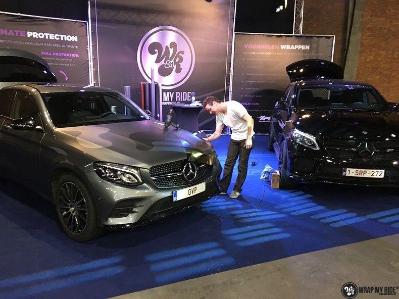 Mercedes GLE Matte Deep Black, Carwrapping door Wrapmyride.nu Foto-nr:10670, ©2020
