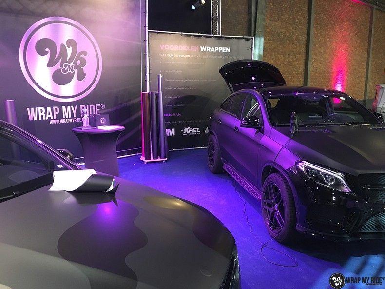 Mercedes GLE Matte Deep Black, Carwrapping door Wrapmyride.nu Foto-nr:10674, ©2021