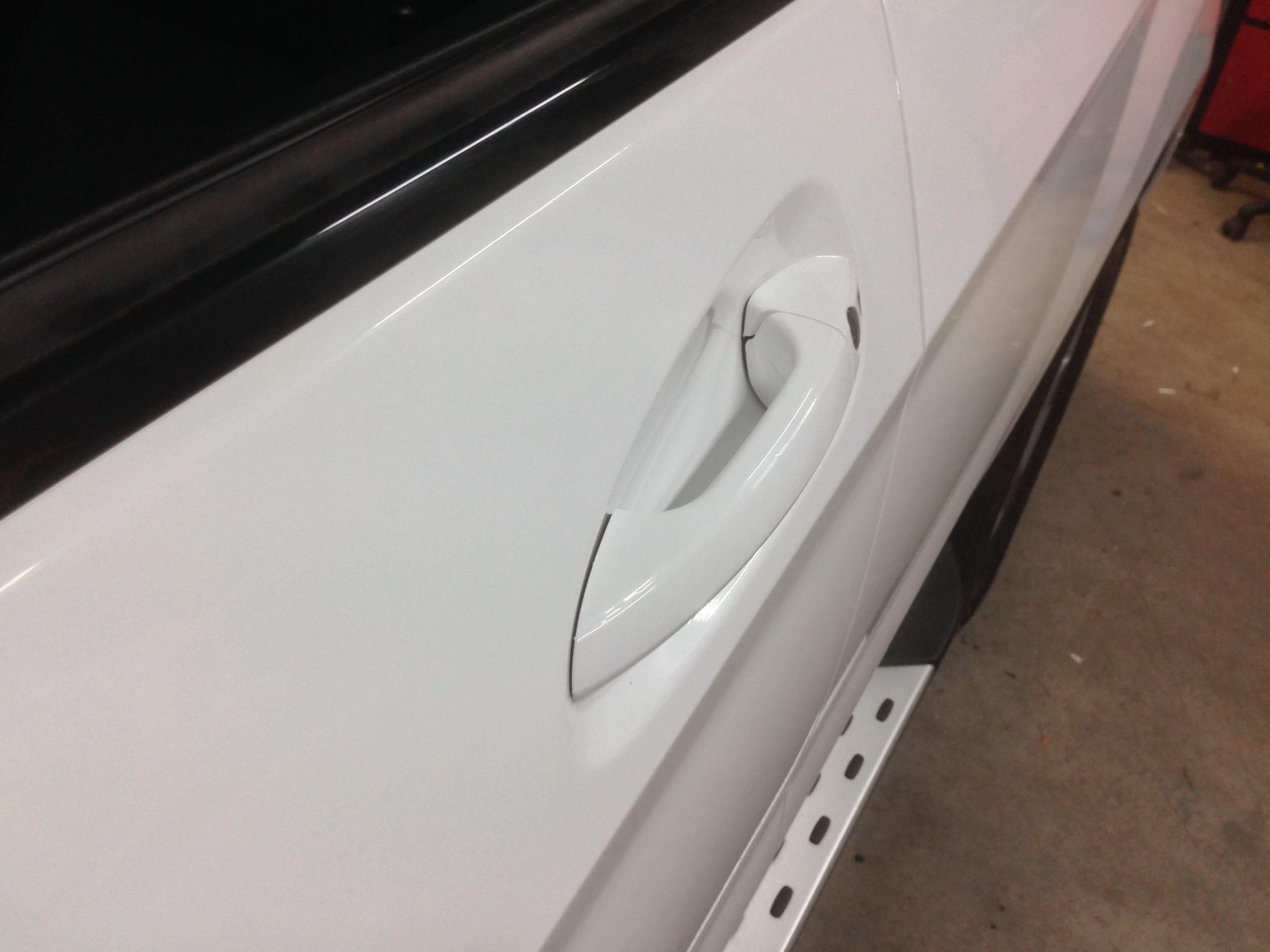 Mercedes GLK met Glossy White Wrap, Carwrapping door Wrapmyride.nu Foto-nr:6304, ©2020
