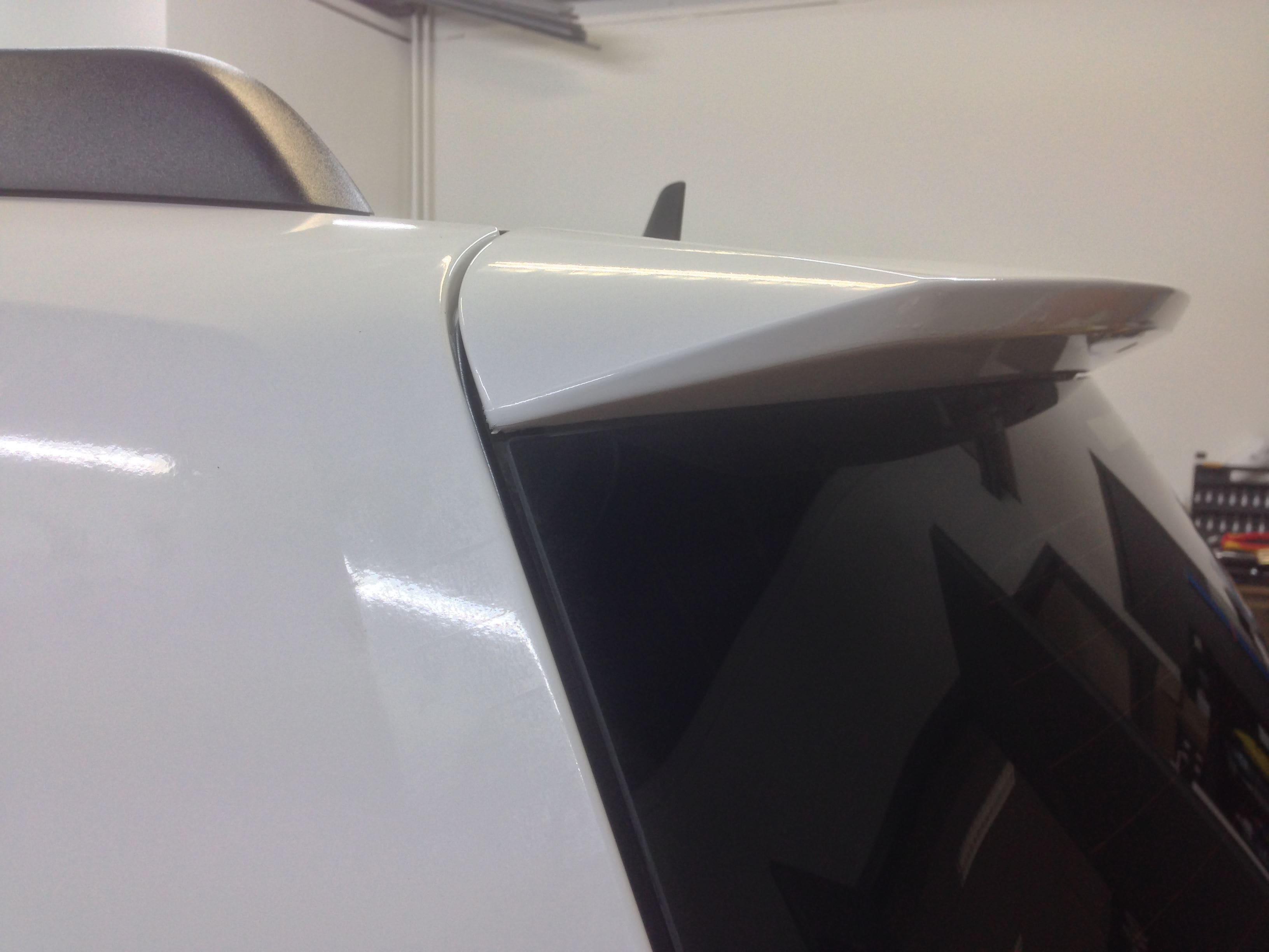 Mercedes GLK met Glossy White Wrap, Carwrapping door Wrapmyride.nu Foto-nr:6305, ©2020