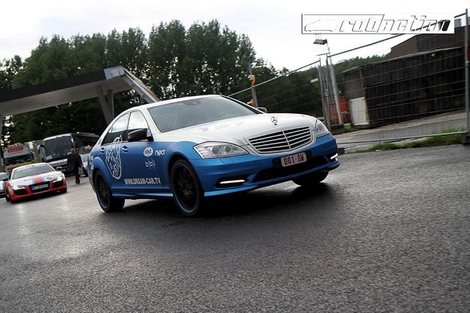 Mercedes S-Klasse AMG met Speciale Modball Wrap, Carwrapping door Wrapmyride.nu Foto-nr:6308, ©2020