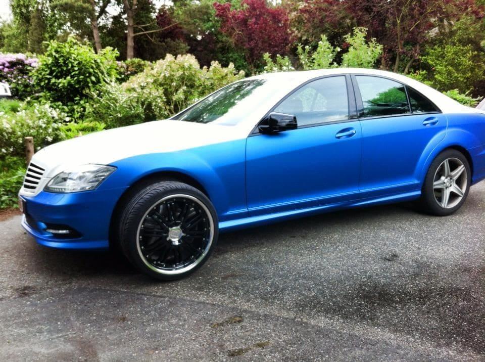 Mercedes S-Klasse AMG met Speciale Modball Wrap, Carwrapping door Wrapmyride.nu Foto-nr:6322, ©2021