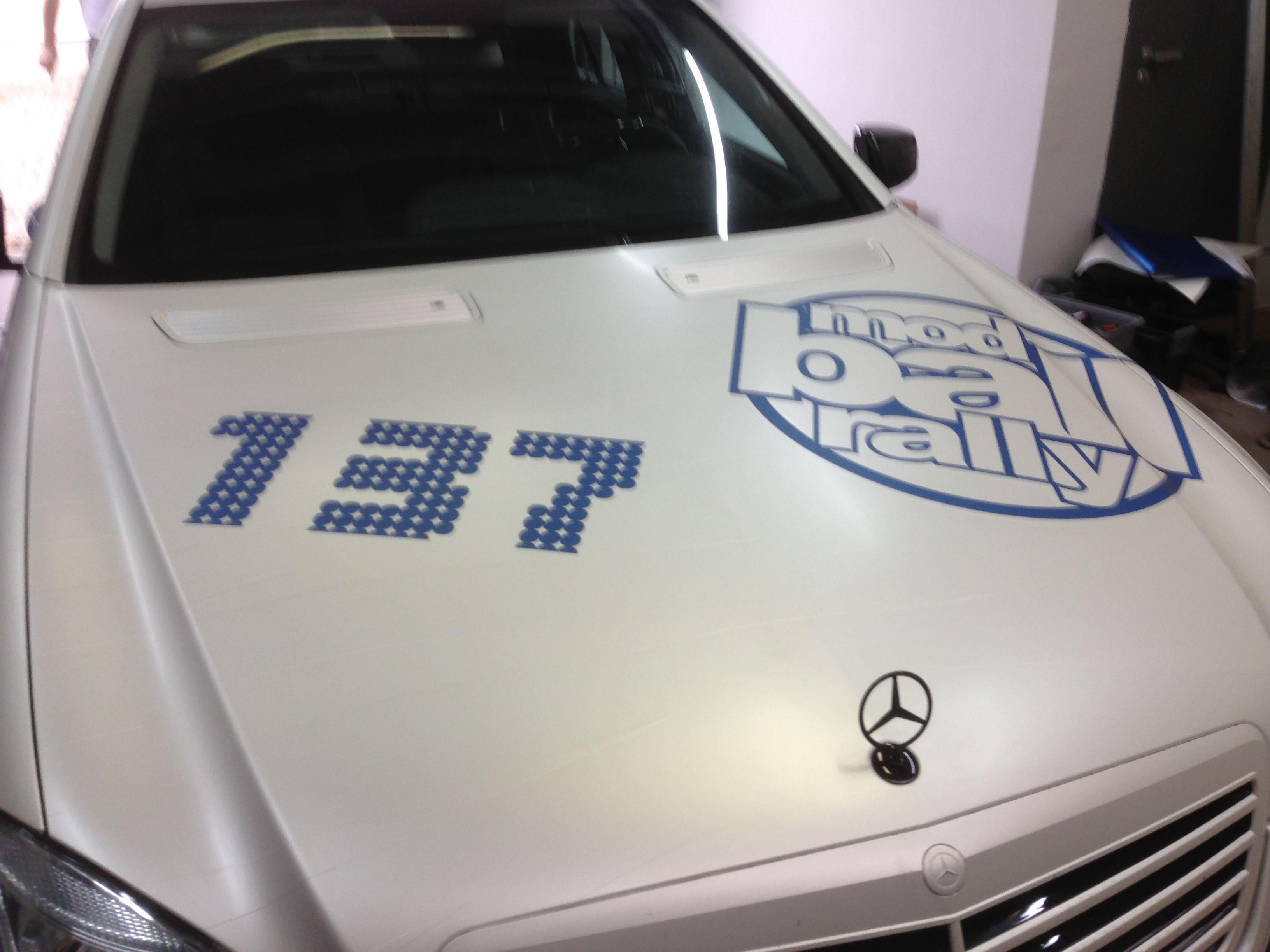 Mercedes S-Klasse AMG met Speciale Modball Wrap, Carwrapping door Wrapmyride.nu Foto-nr:6326, ©2021