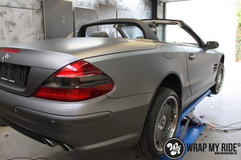 Mercedes SL 55AMG, Carwrapping door Wrapmyride.nu Foto-nr:7945, ©2020