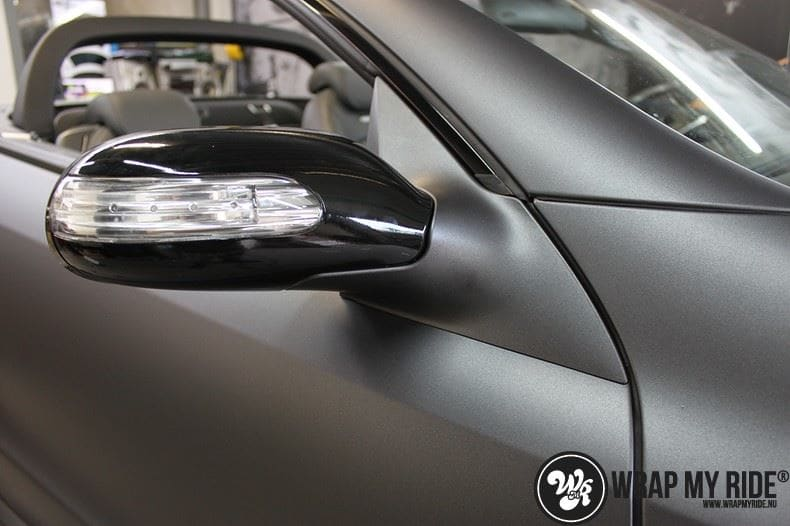 Mercedes SL 55AMG, Carwrapping door Wrapmyride.nu Foto-nr:7947, ©2021