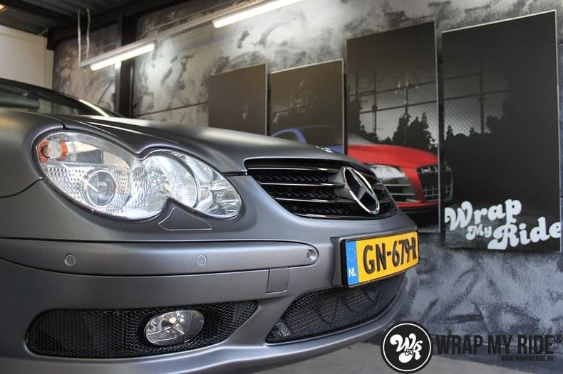 Mercedes SL 55AMG, Carwrapping door Wrapmyride.nu Foto-nr:7949, ©2021
