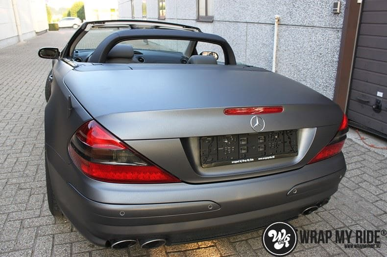 Mercedes SL 55AMG, Carwrapping door Wrapmyride.nu Foto-nr:7954, ©2021
