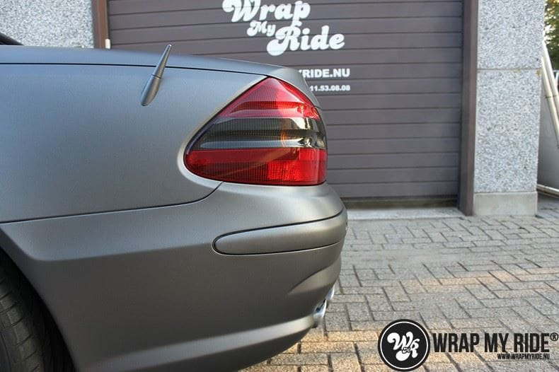 Mercedes SL 55AMG, Carwrapping door Wrapmyride.nu Foto-nr:7957, ©2020
