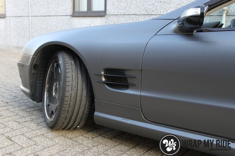 Mercedes SL 55AMG, Carwrapping door Wrapmyride.nu Foto-nr:7959, ©2020