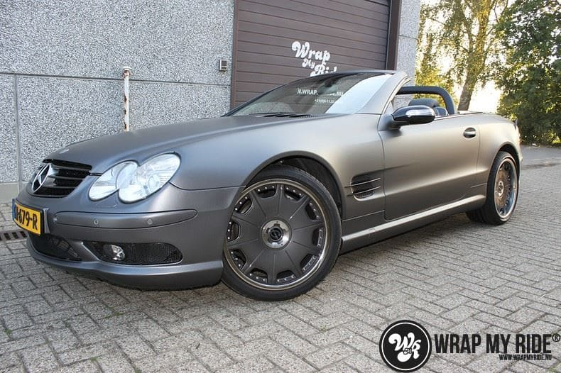 Mercedes SL 55AMG, Carwrapping door Wrapmyride.nu Foto-nr:7961, ©2020