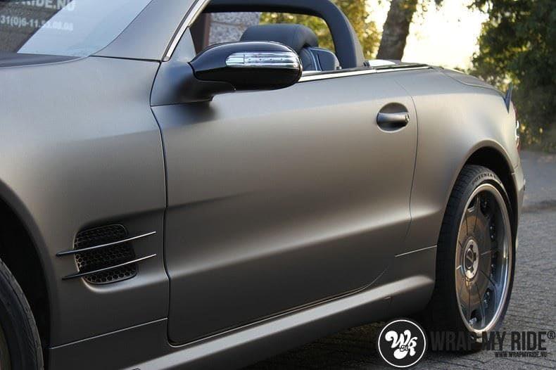 Mercedes SL 55AMG, Carwrapping door Wrapmyride.nu Foto-nr:7963, ©2021