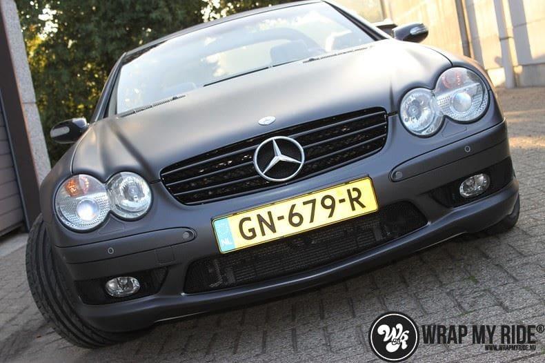 Mercedes SL 55AMG, Carwrapping door Wrapmyride.nu Foto-nr:7965, ©2021