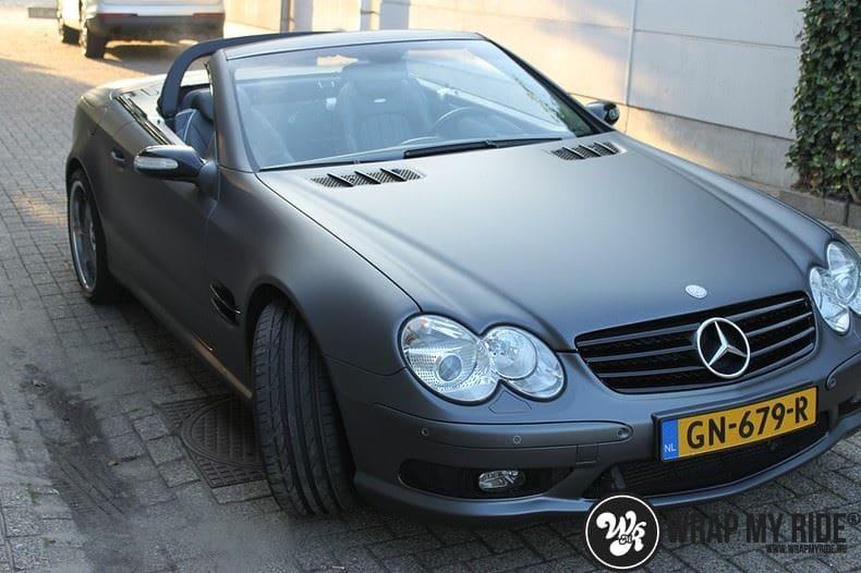 Mercedes SL 55AMG, Carwrapping door Wrapmyride.nu Foto-nr:7966, ©2020