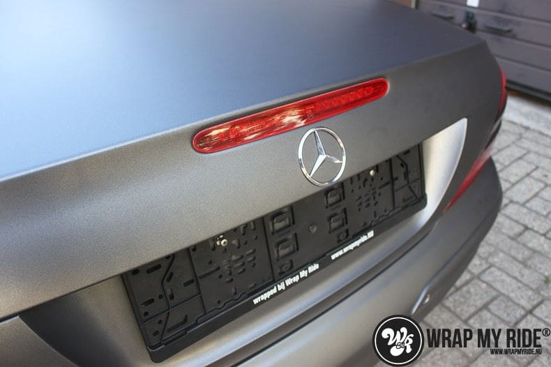 Mercedes SL 55AMG, Carwrapping door Wrapmyride.nu Foto-nr:7968, ©2020