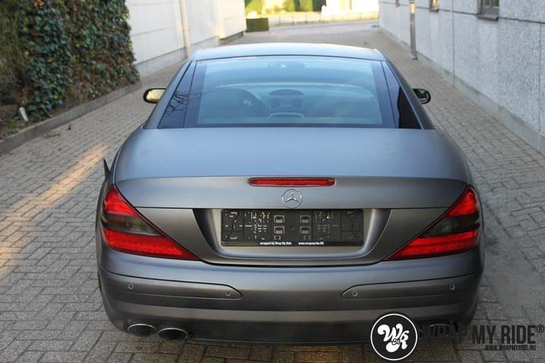 Mercedes SL 55AMG, Carwrapping door Wrapmyride.nu Foto-nr:7977, ©2020