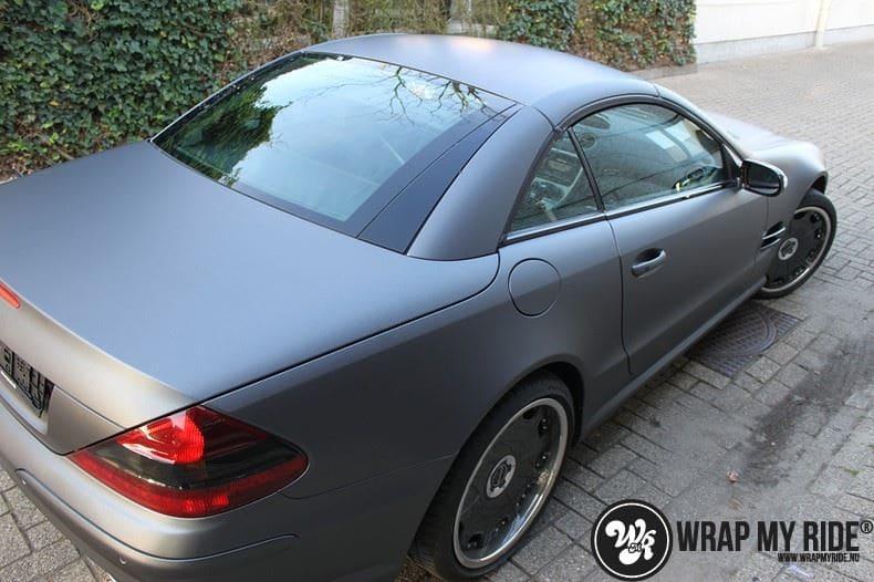 Mercedes SL 55AMG, Carwrapping door Wrapmyride.nu Foto-nr:7978, ©2020