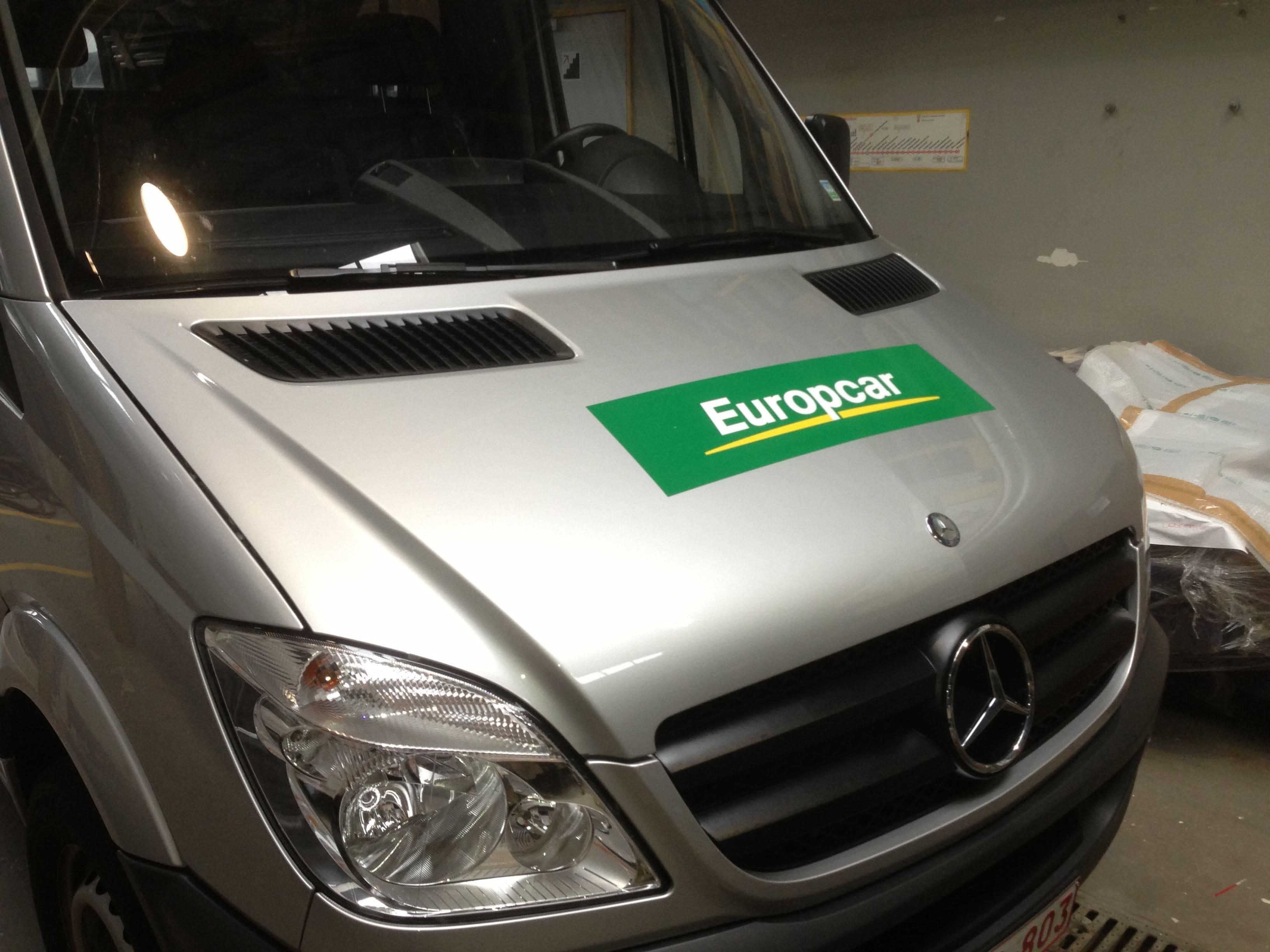 Mercedes Sprinter met Full Color Wrap voor De Lijn, Carwrapping door Wrapmyride.nu Foto-nr:6338, ©2021