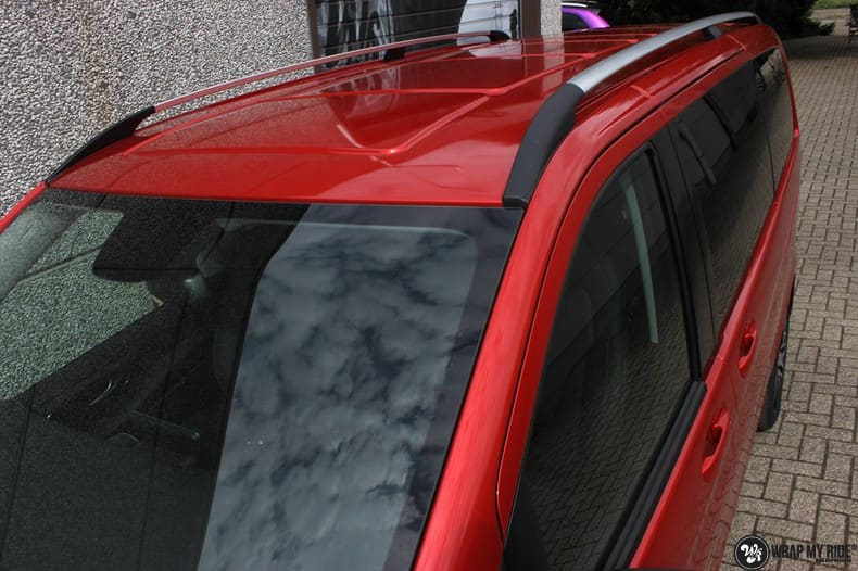 Mercedes V-klasse AMG Dragon fire red, Carwrapping door Wrapmyride.nu Foto-nr:9879, ©2021