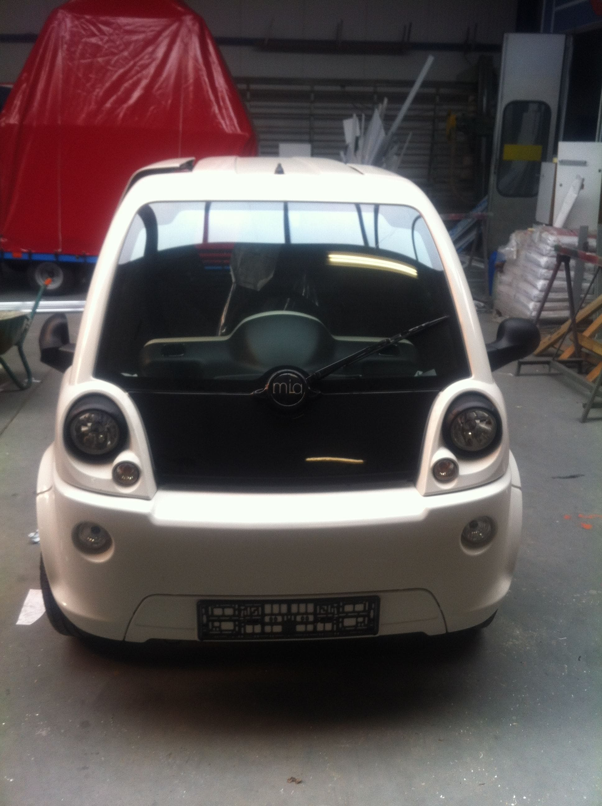 Mia Electrowagen met Full Color Wrap, Carwrapping door Wrapmyride.nu Foto-nr:6355, ©2021