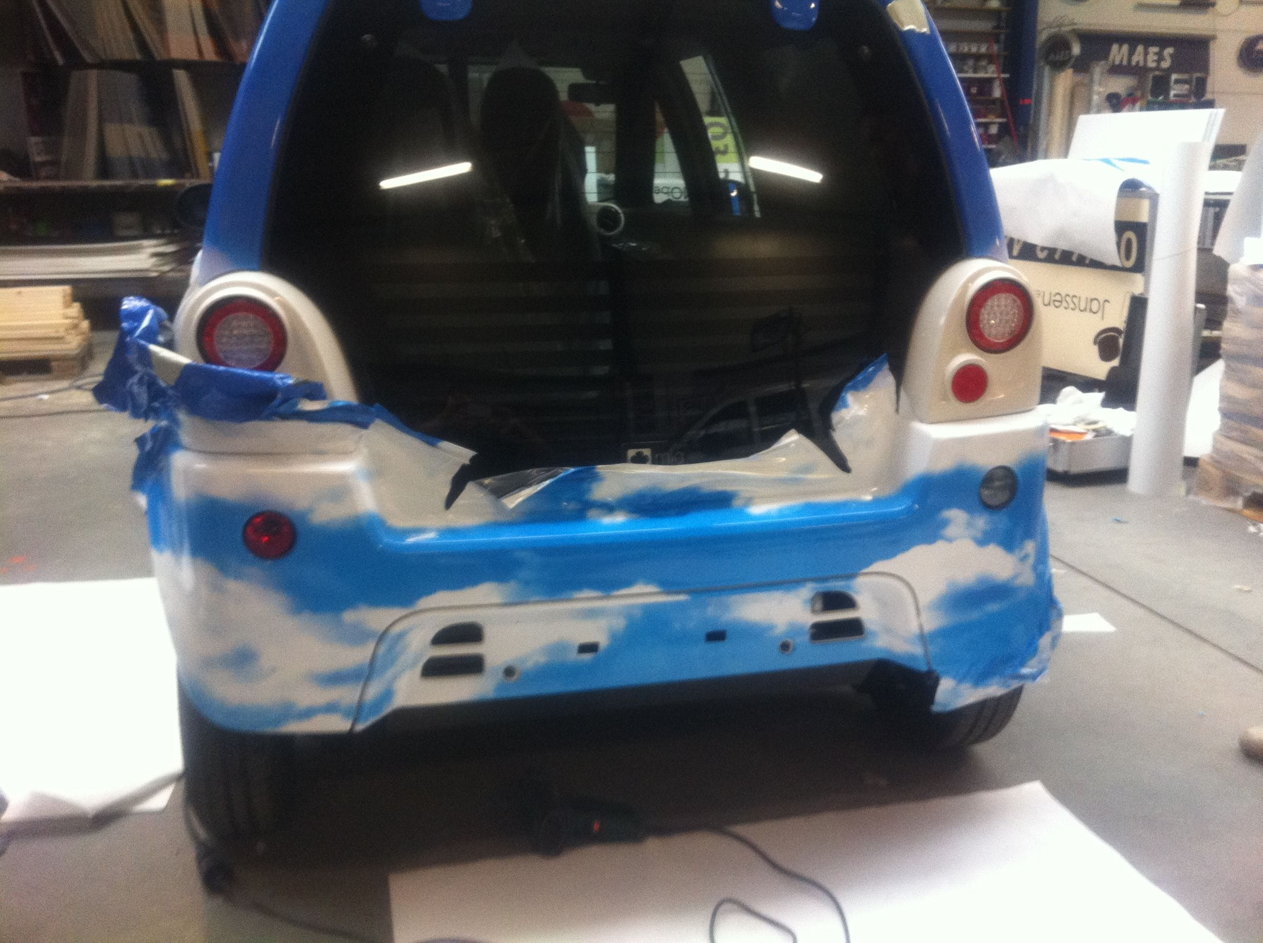 Mia Electrowagen met Full Color Wrap, Carwrapping door Wrapmyride.nu Foto-nr:6361, ©2021