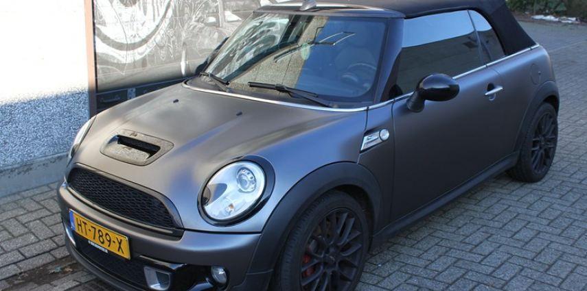 Mini cooper S cabrio Satin Dark Grey