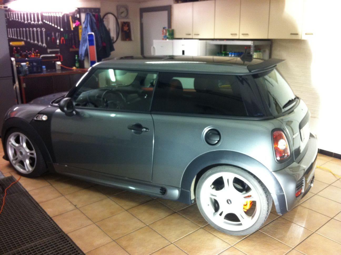 Mini Cooper S Met Mat Zwarte Accenten Wrap My Ride