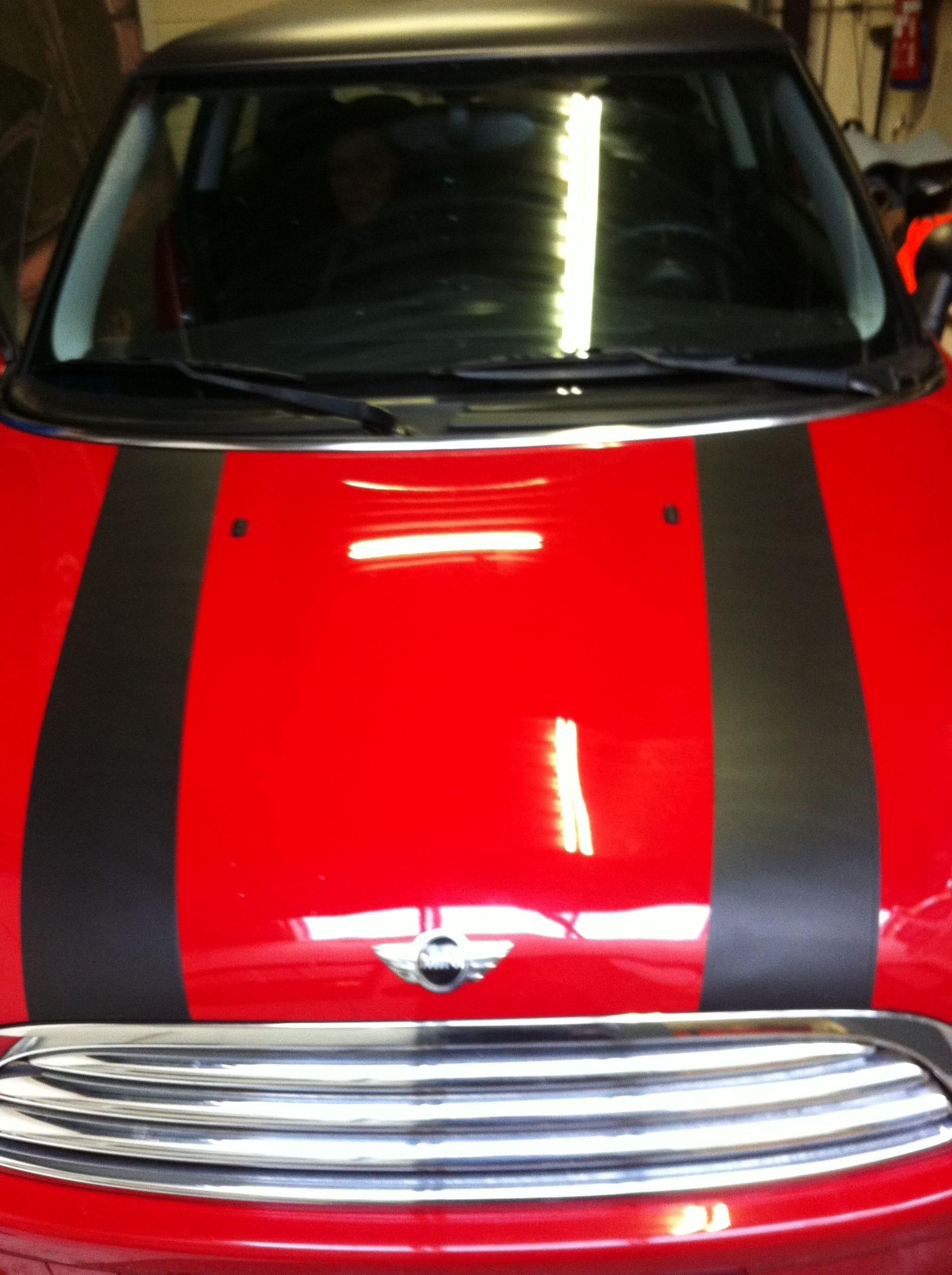 Mini Dak Zwart Gewrapt, Carwrapping door Wrapmyride.nu Foto-nr:6428, ©2020