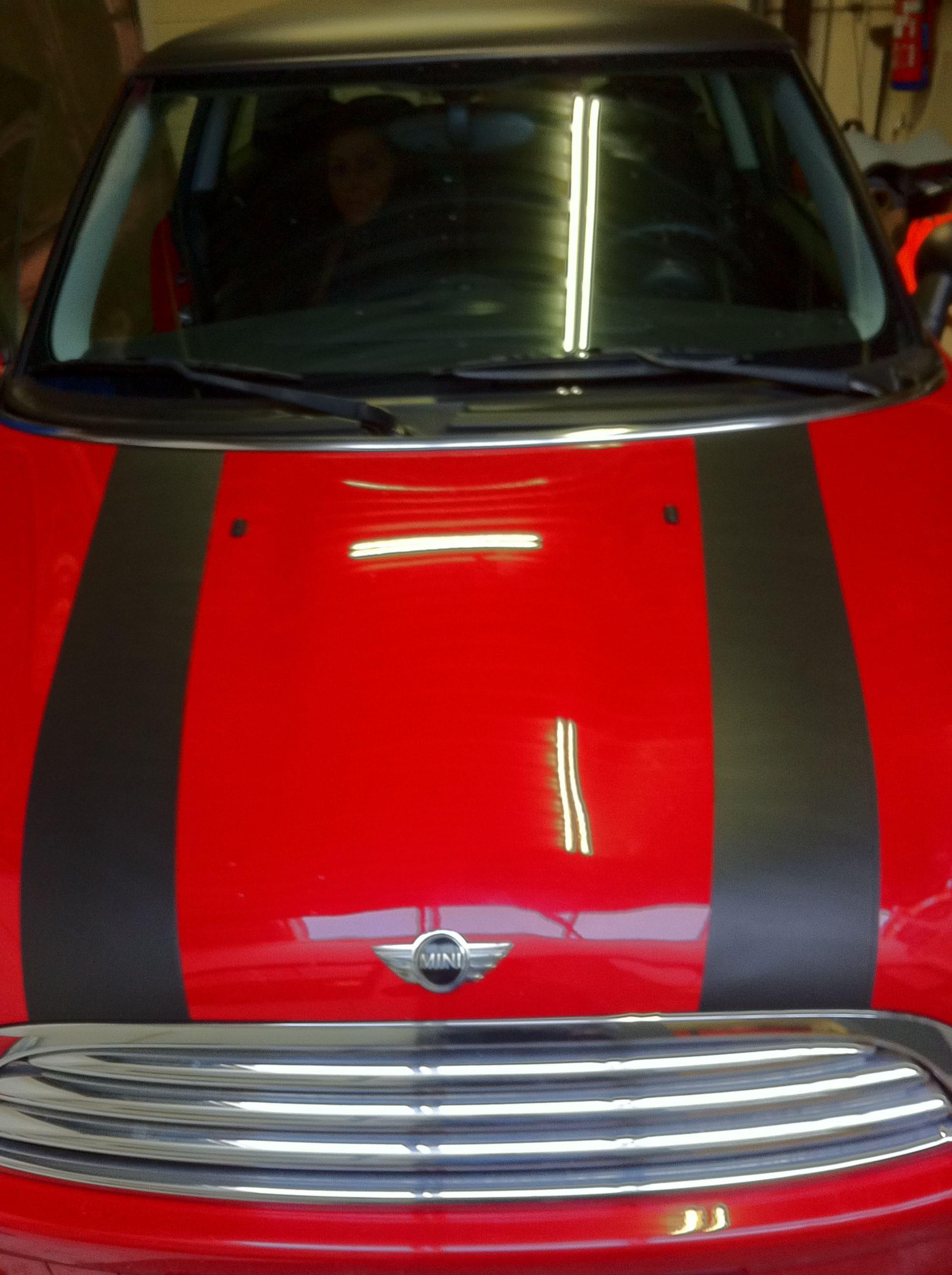 Mini Dak Zwart Gewrapt, Carwrapping door Wrapmyride.nu Foto-nr:6429, ©2020