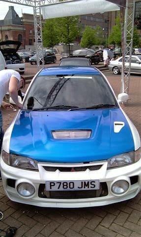 Mitsubishi Evolution 4 Wrap, Carwrapping door Wrapmyride.nu Foto-nr:6433, ©2021
