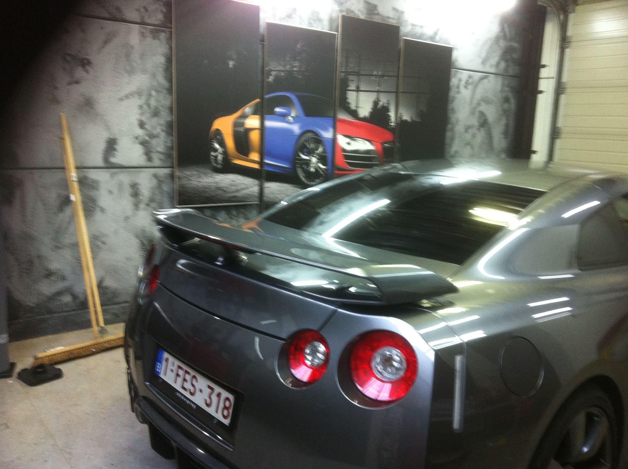 Nissan GT-R met Mat Grijze Wrap, Carwrapping door Wrapmyride.nu Foto-nr:6542, ©2020