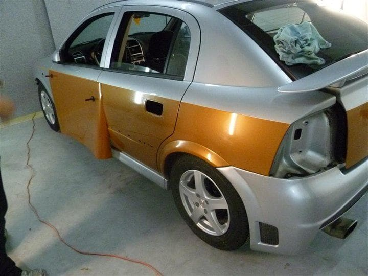 Opel Astra met Two-Tone Wrap, Carwrapping door Wrapmyride.nu Foto-nr:6609, ©2020