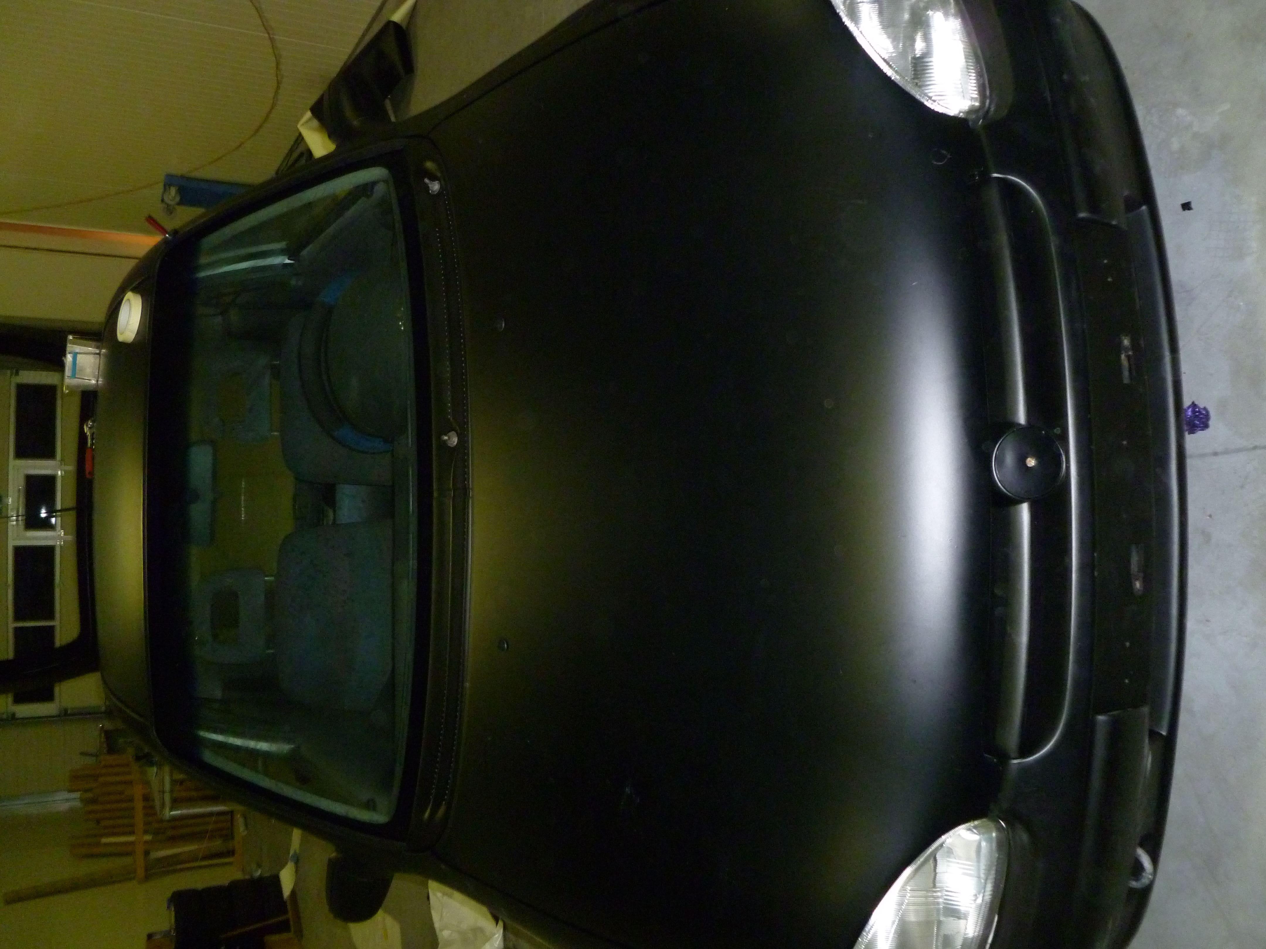 Opel Corsa B met Zwart Paarse Striping, Carwrapping door Wrapmyride.nu Foto-nr:6640, ©2021