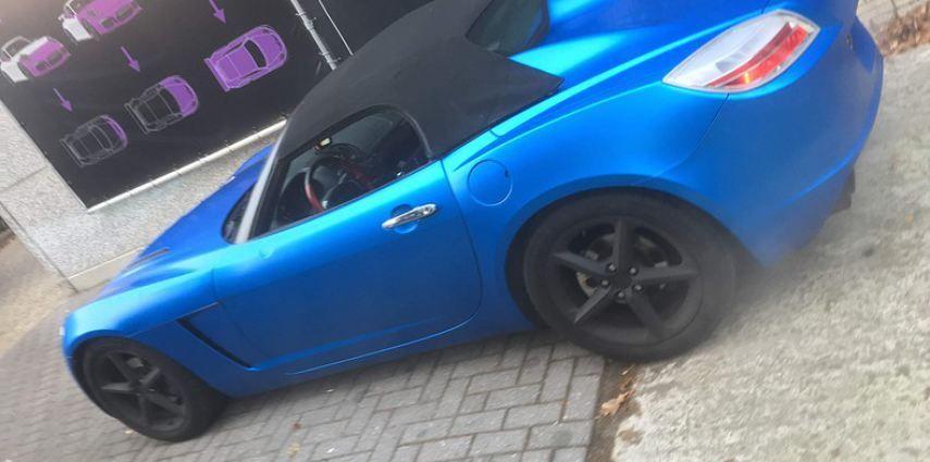 Opel GT speedster satin perfect bleu