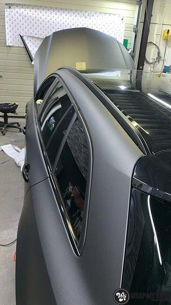 opel insignia matte dark grey, Carwrapping door Wrapmyride.nu Foto-nr:12595, ©2019