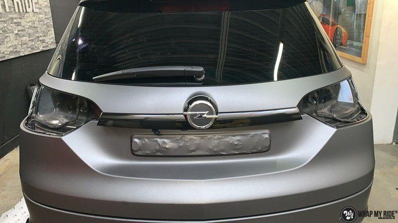 opel insignia matte dark grey, Carwrapping door Wrapmyride.nu Foto-nr:12582, ©2019