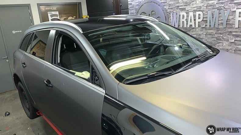 opel insignia matte dark grey, Carwrapping door Wrapmyride.nu Foto-nr:12587, ©2019