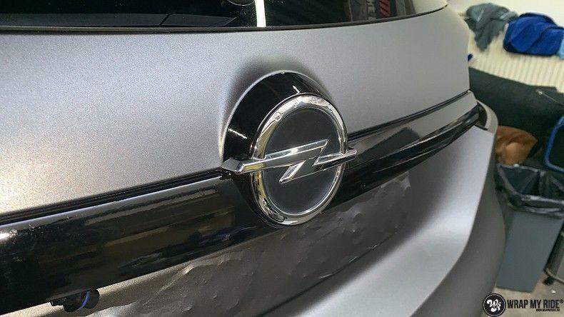 opel insignia matte dark grey, Carwrapping door Wrapmyride.nu Foto-nr:12599, ©2019