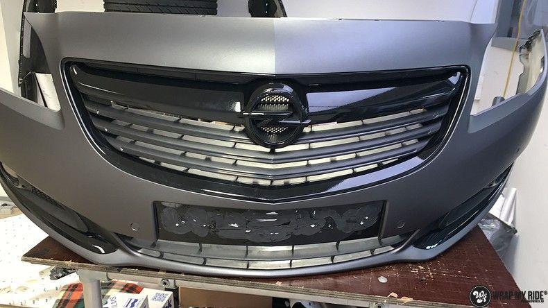 opel insignia matte dark grey, Carwrapping door Wrapmyride.nu Foto-nr:12608, ©2019