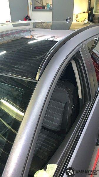 opel insignia matte dark grey, Carwrapping door Wrapmyride.nu Foto-nr:12607, ©2019