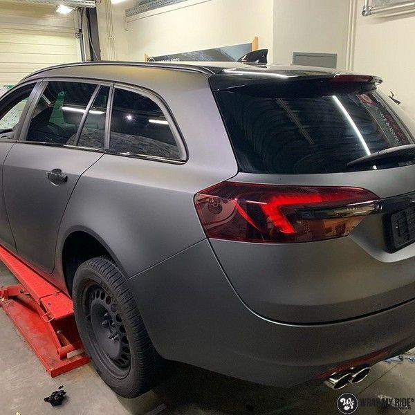 opel insignia matte dark grey, Carwrapping door Wrapmyride.nu Foto-nr:12610, ©2019