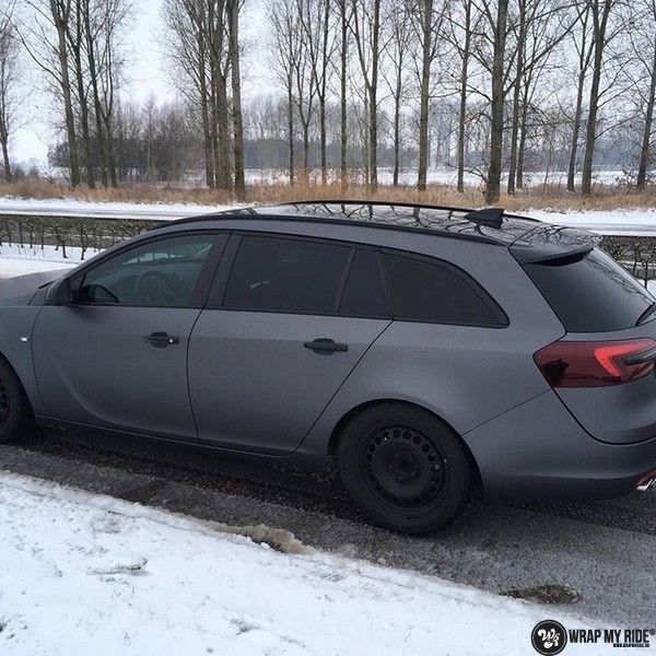 opel insignia matte dark grey, Carwrapping door Wrapmyride.nu Foto-nr:12614, ©2020